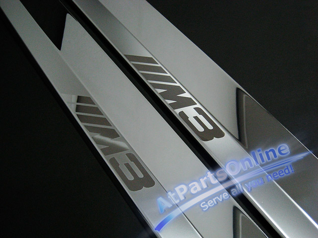 Auto Pro. กาบบันไดโครเมี่ยม M3 Sandblast รถ BMW E36 Coupe และ Convertible 318is 320i 323i 325is 328i