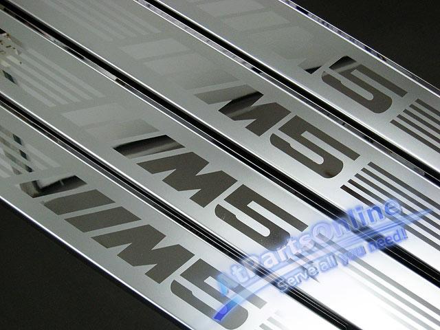 Auto Pro. กาบบันไดโครเมี่ยม M5 Sandblast รถ BMW E34 Sedan และ Van Touring 520i 525i 530i 540i 525tds