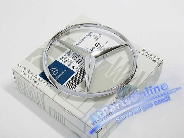 Auto Pro. ดาวฝากระโปรงท้าย Original Mercedes-Benz รถเบนซ์ W124 W201 190E 200E 230E E220 E280 E500 30 3