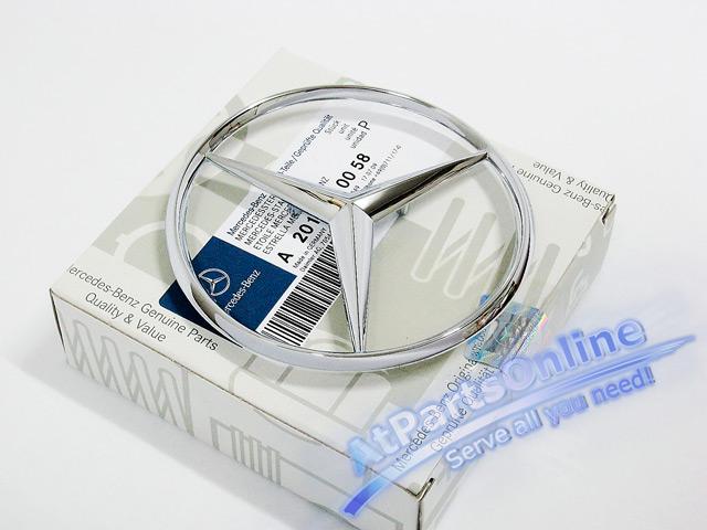 Auto Pro. ดาวฝากระโปรงท้าย Original Mercedes-Benz รถเบนซ์ W124 W201 190E 200E 230E E220 E280 E500 30 9