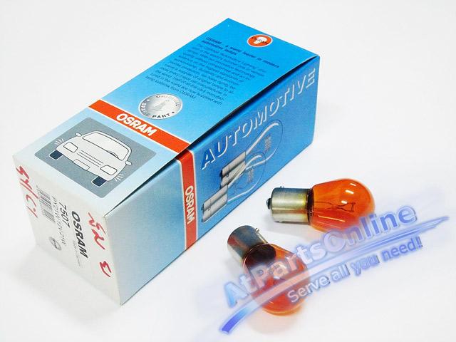 Auto Pro. หลอดไฟเลี้ยวสีส้ม สำหรับรถเบนซ์ Mercedes-Benz W107 W123 W124 W126 W129 W140 W201 W202 C-Cl 1