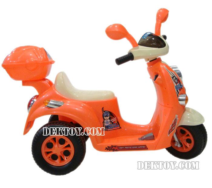 รถแบตเตอรี่ฟีโน่ ส้ม