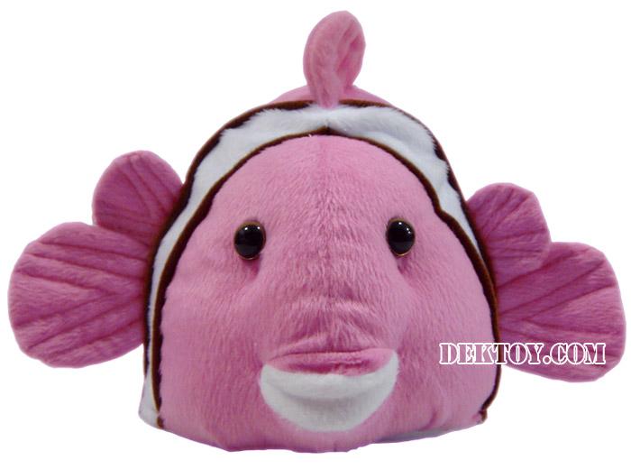 หมวกเด็กหน้าปลานีโม่ ชมพู