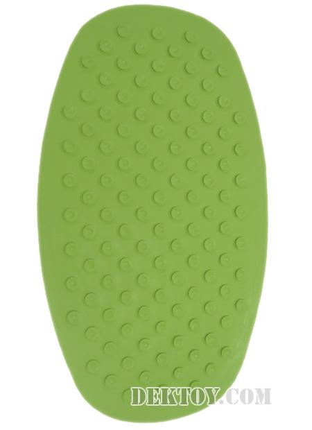 ผ้ายางกันลื่นแอทตูน สีเขียว
