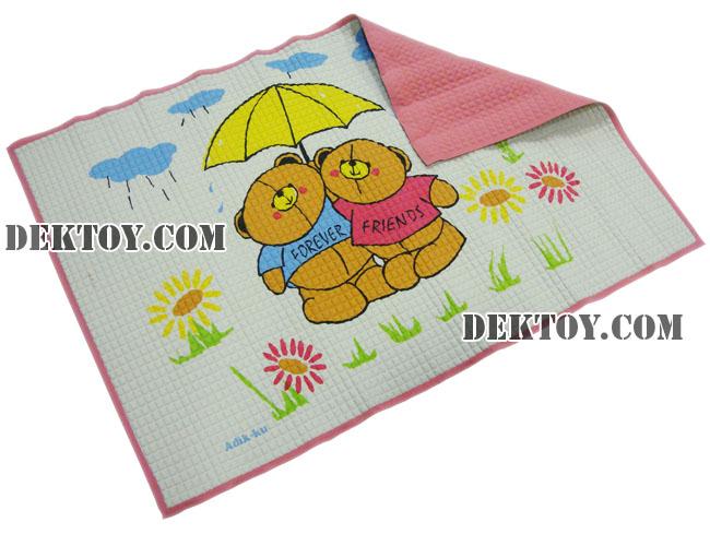 ผ้ายางสูญญากาศไซส์ L สีชมพู 60 x 90 ซม.
