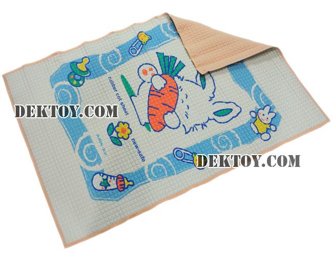 ผ้ายางสูญญากาศไซส์ L สีส้ม 60 x 90 ซม.
