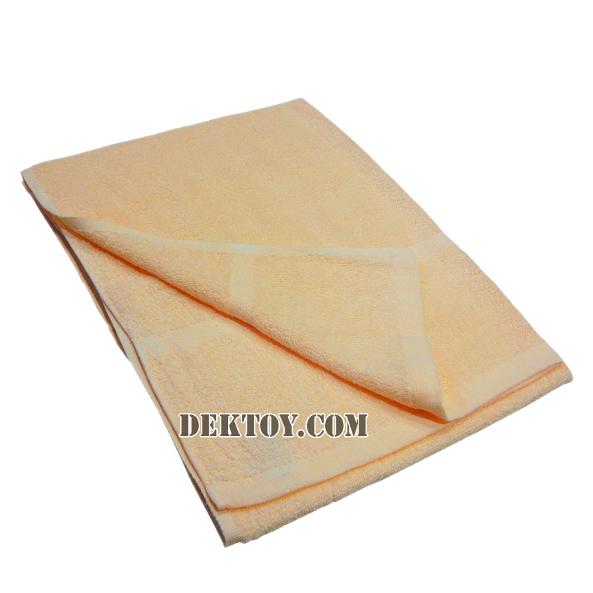 ผ้าขนหนูเช็ดตัวสีหวาน ไซส์ 24 x 48 นิ้ว สีส้ม