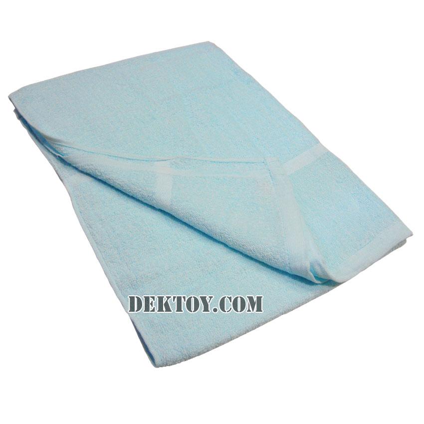 ผ้าขนหนูเช็ดตัวสีหวาน ไซส์ 24 x 48 นิ้ว สีฟ้า