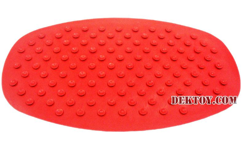 ผ้ายางกันลื่นแอทตูน สีเเดง