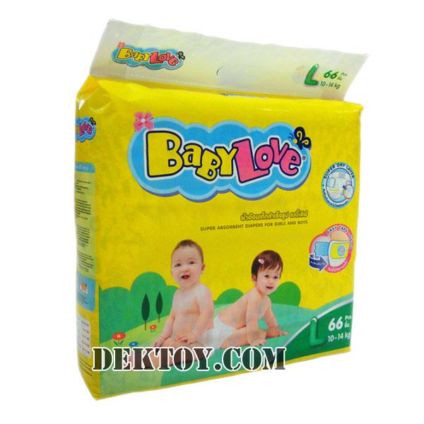 เบบี้เลิฟ เทปกาว-Babylove tape ไซส์ L 66 ชิ้น