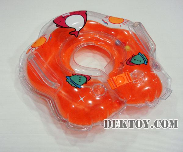 ห่วงคอว่ายน้ำสำหรับเด็ก สีส้ม