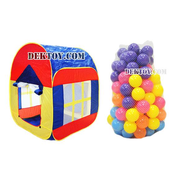 บ้านบอล8067คู่กับลูกบอลขนาด2.8นิ้ว