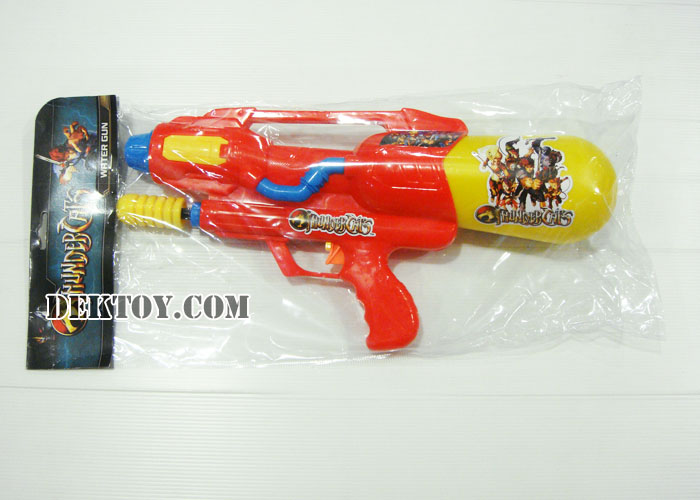 ปืนฉีดน้ำปั๊มลมธันเด้อ 38 ซม. สีแดง