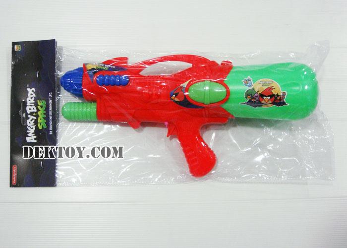 ปืนฉีดน้ำปั๊มลมแองกี้เบิร์ด 38 ซม. สีแดง