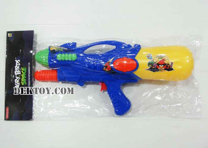 ปืนฉีดน้ำปั๊มลมแองกี้เบิร์ด 38 ซม. สีน้ำเงิน