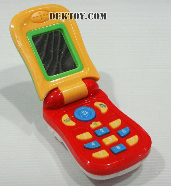 โทรศัพท์เด็กเล่น CY10134 สีแดง