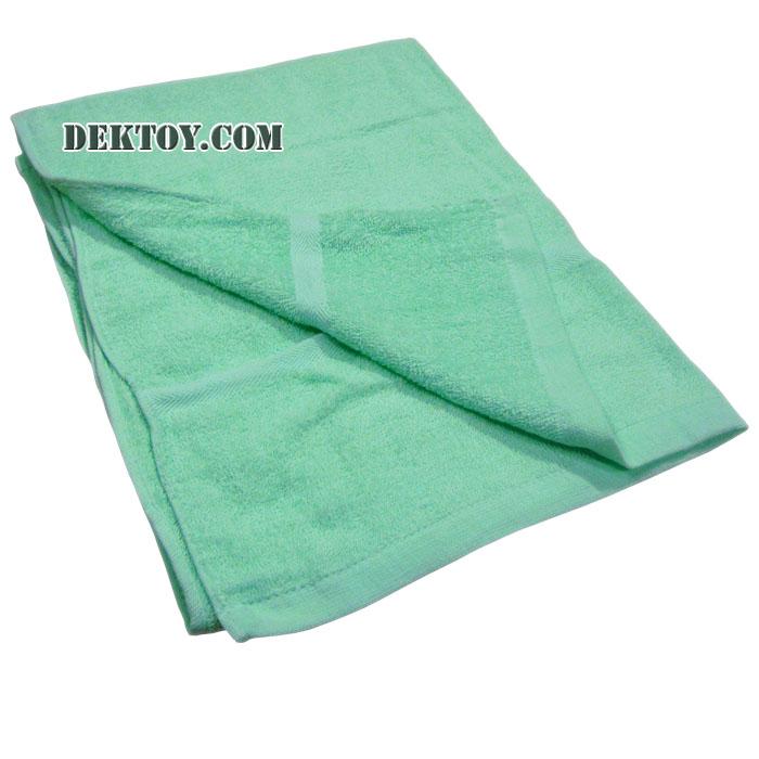 ผ้าขนหนูเช็ดตัวสีหวาน ไซส์ 24 x 48 นิ้ว สีเขียว