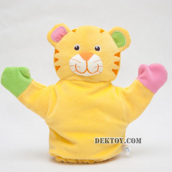 ตุ๊กตามือหน้าเสือ KT-PP-01