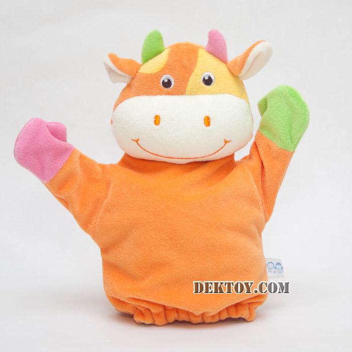 ตุ๊กตามือหน้าวัว KT-PP-02