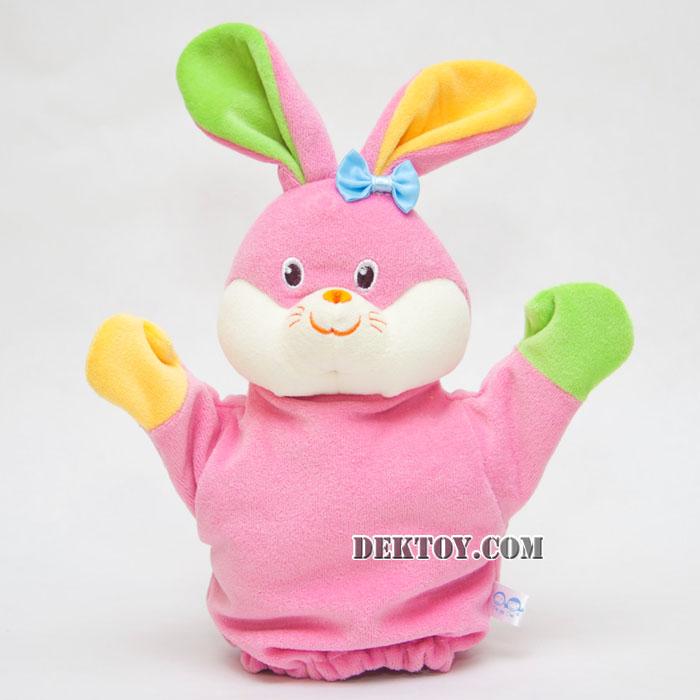 ตุ๊กตามือหน้ากระต่าย KT-PP-03