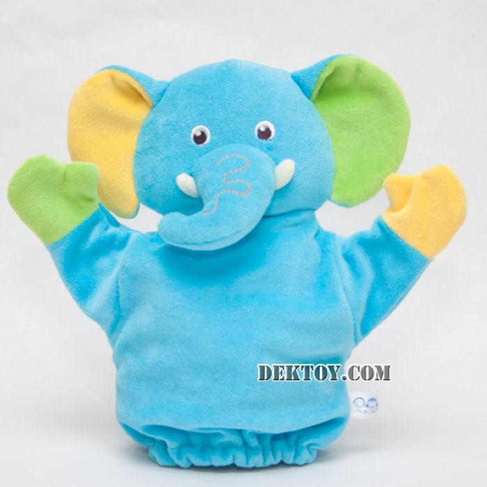 ตุ๊กตามือหน้าช้าง KT-PP-04