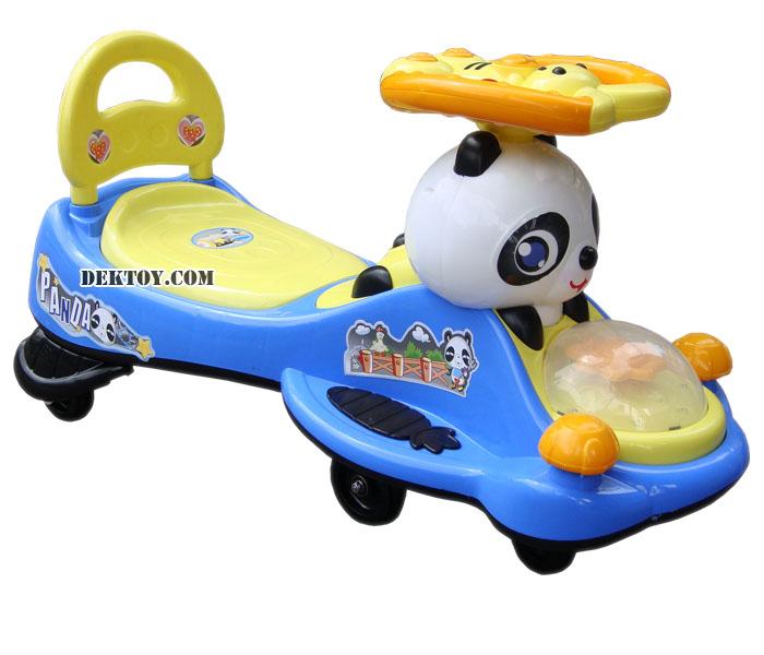 รถดุ๊กดิ๊กหมีแพนด้า สีฟ้า BRLL1094ML