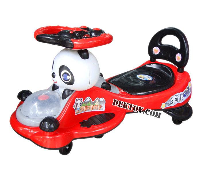 รถดุ๊กดิ๊กหมีแพนด้า สีแดง BRLL1094ML