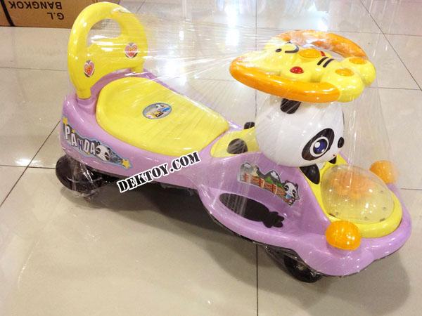 รถดุ๊กดิ๊กหมีแพนด้า สีม่วง BRLL1094ML