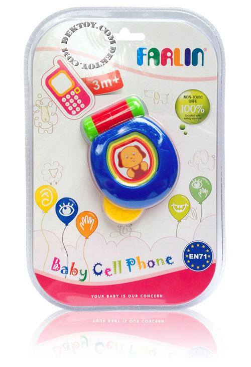 ของเล่นเขย่ามือฟาร์ลิน TOY754 โทรศัพท์