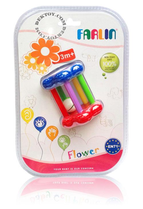 ของเล่นเขย่ามือฟาร์ลิน TOY754 ดอกไม้