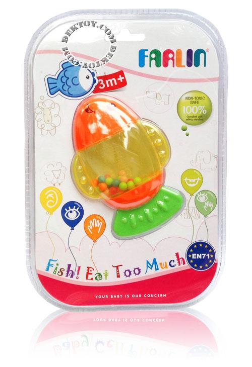 ของเล่นเขย่ามือฟาร์ลิน TOY754 ปลา