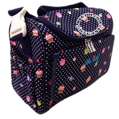 กระเป๋าคุณแม่สำหรับใส่ขวดนมไอคิดส์ สีกรม