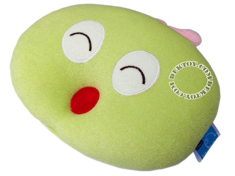 หมอนหนุนเด็กหน้าหนอน สีเขียว Papa PR-90A