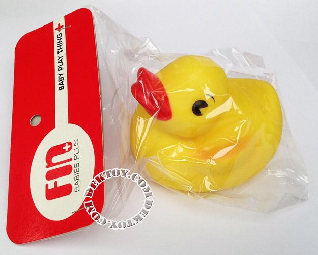 ยางบีบลอยน้ำเป็ด Fin Toy-1012