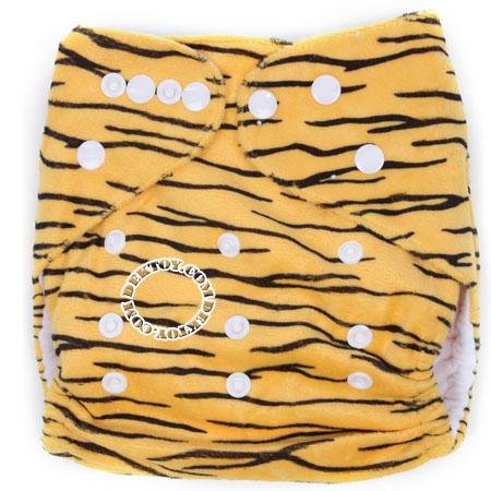 กางเกงผ้าอ้อมถอดซักได้ Luvable Friends ลายเสือ แรกเกิด-2 ปี