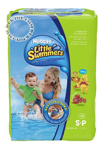 ฮักกี้ส์ ลิตเติ้ล สวิมเมอร์ส กางเกงผ้าอ้อมใส่ว่ายน้ำ ไซส์ S ขนาด 12 ชิ้น