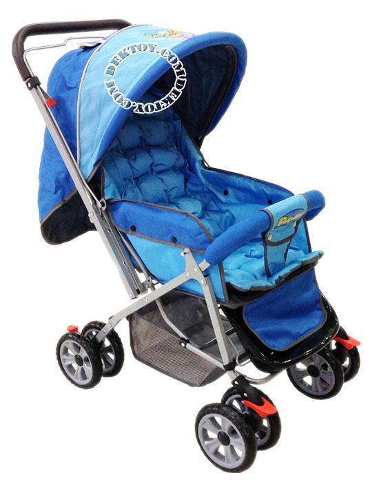 รถเข็นเด็กแอทตูน โปโรโร่ สีฟ้า