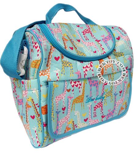 กระเป๋าคุณแม่สำหรับใส่ขวดนมไอคิดส์ ไซส์ L สีเขียว