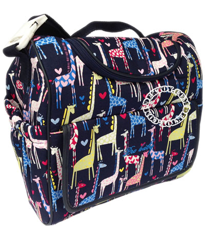 กระเป๋าคุณแม่สำหรับใส่ขวดนมไอคิดส์ ไซส์ L สีกรม