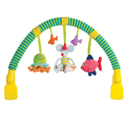 ของเล่นแขวนรถเข็นห้อยเปลโยกเด็ก TAF TOYS arch n' touch 10565
