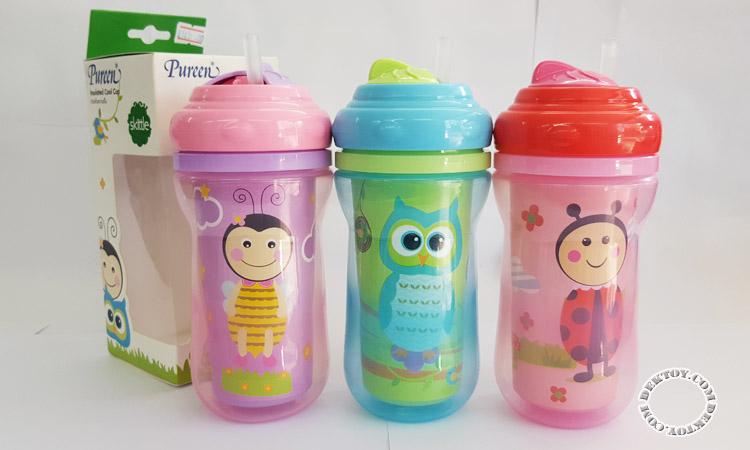ถ้วยเก็บความเย็นเพียวรีน-Pureen Insulated Cool Cup 31BFD14070