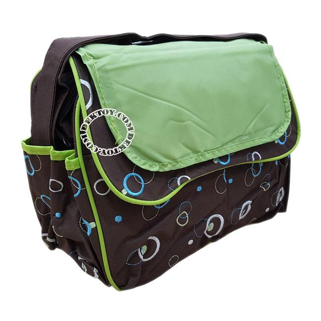กระเป๋าคุณแม่สำหรับใส่สัมภาระแอทตูน เขียว