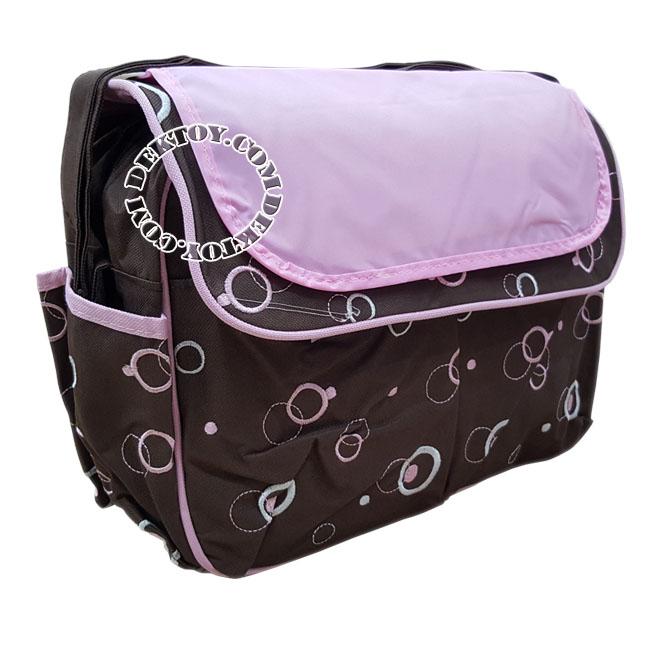 กระเป๋าคุณแม่สำหรับใส่สัมภาระแอทตูน 118013 ชมพู