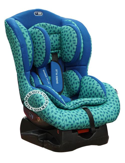 Fin babiesplus ฟินเบบี้พลัส คาร์ซีท Car Seat Fin HB01 สีเขียวช้าง