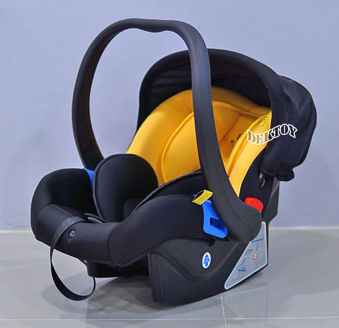 B Duck บีดั๊กคาร์ซีทกระเช้าสำหรับเด็กแรกเกิด 0-13 กก. รุ่น BD-LM402 สีเหลืองดำ