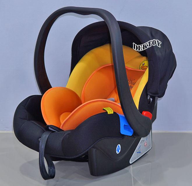 B Duck บีดั๊กคาร์ซีทกระเช้าสำหรับเด็กแรกเกิด 0-13 กก. รุ่น BD-LM402 สีส้มดำ