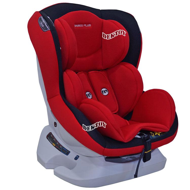Fin babiesplus ฟินเบบี้พลัส คาร์ซีท Car Seat Fin รุ่น CM0921 สีแดง