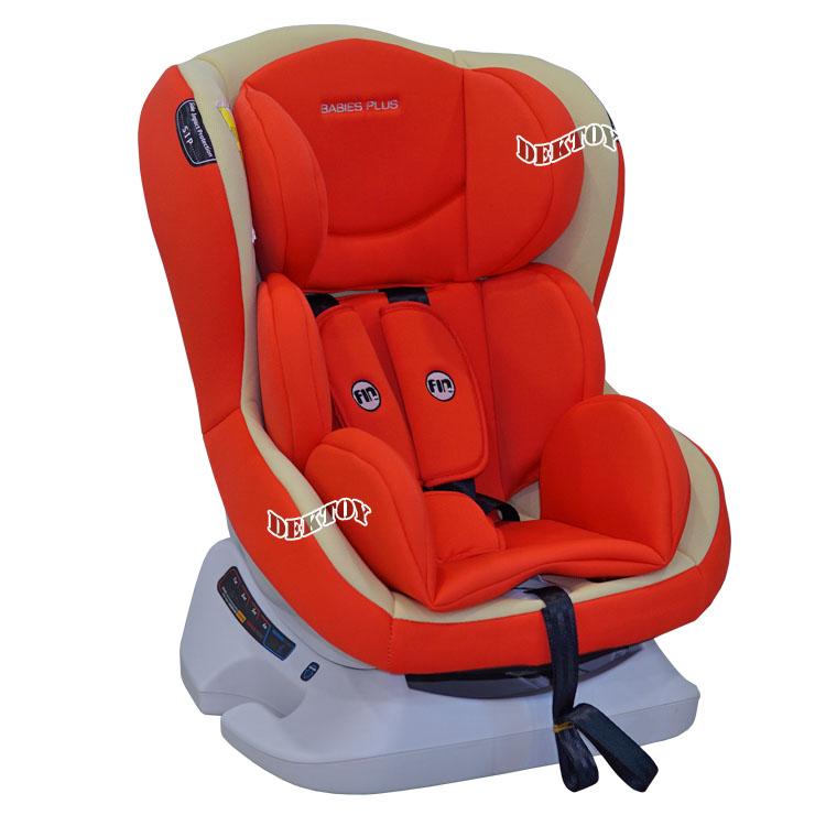 Fin babiesplus ฟินเบบี้พลัส คาร์ซีท Car Seat Fin รุ่น CM0921 สีส้ม