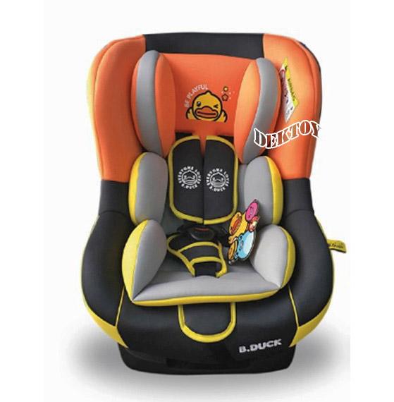 B Duck บีดั๊ค คาร์ซีทปรับเอนได้ 4 ระดับ สำหรับเด็กแรกเกิด-4ขวบ รุ่น BD-LM309A สีส้มดำ