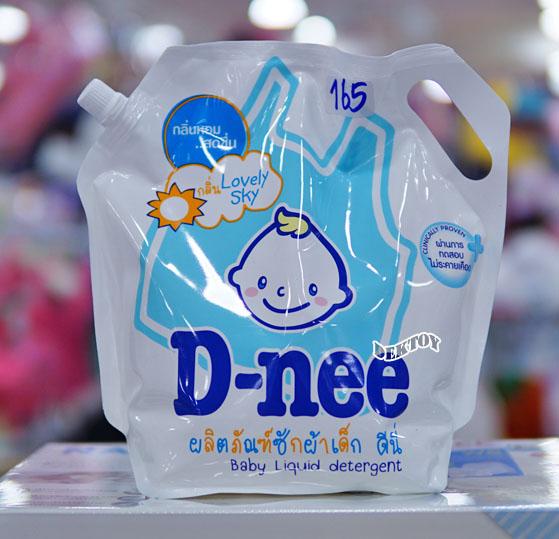 Dnee น้ำยาซักผ้าเด็กดีนี่ ถุงเติมกลิ่น Lovely Sky สีฟ้า 1800 มล.
